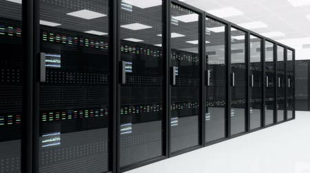 rechenzentrum : CPU-Baugruppe Server Room Data Center 3D-Animation Videos