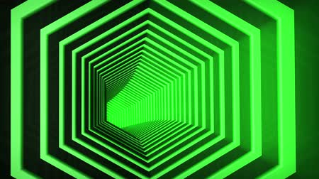 forma tridimensional : Tunnel Flythrough 3D animation