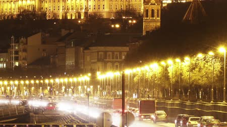 budapeste : Budapest Hungary by Night Timelapse
