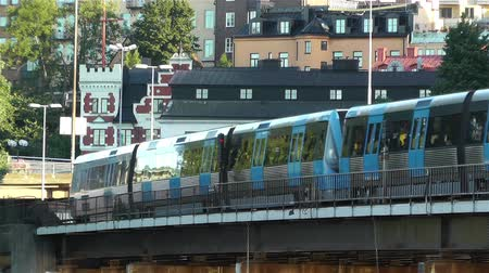 pociąg : Stockholm Train Sweden