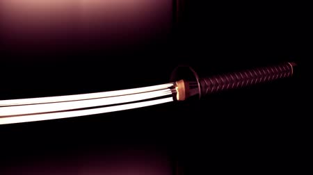 samuraj : Japanese Samurai Katana 3D artwork animation Wideo