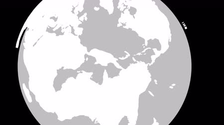 континент : Australia Earth Zoom In 3D animation with Matte layers included so that you can separate the parts and change the color of the Continents and Water or simply use the country map without the Globe