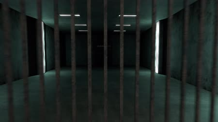 плохо : 4K Old and Demolished High Security Super Criminal Solitary Confinement Cell, Lockup Scene 3D Animation