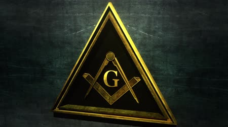 loga : 4K Free Masonic Grand Lodge Sign with Matte 3D Animation