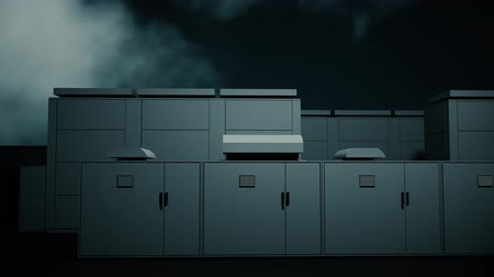 descarga : 4K NAS Battery Park Energy Storage Station at Night Photorealistic 3D Animation Vídeos