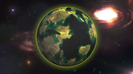 habitable : New Planet in the Galaxy for Humankind Cinematic 4K Animation  Concept for exploring new liveable planets and move humankind there to avoid a population disaster on Earth.