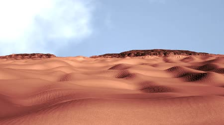 neúrodný : Sand and Rocks Desert 3D Animation 3