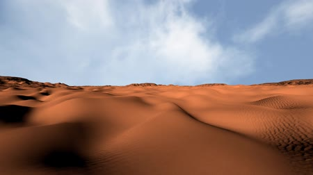 desolado : Sand and Rocks Desert 3D Animation Pan 1