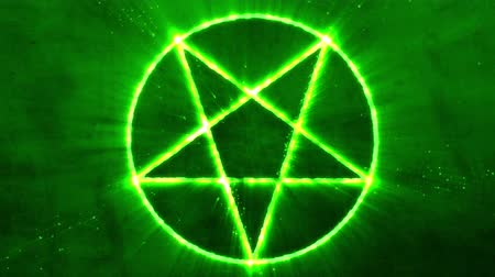 witchcraft : 4K Inverted Pentagram Symbol 2