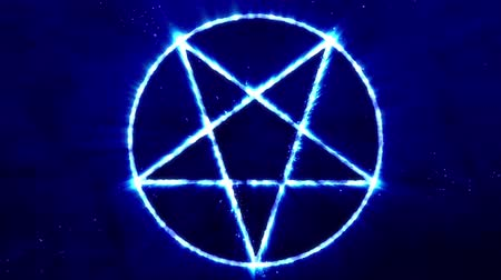inverted : 4K Inverted Pentagram Symbol 3