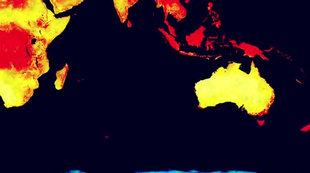 félteke : Earth Landmass Global Warming Southern Hemisphere 2