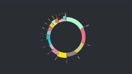 graph : Modern Financial Business Chart Animation