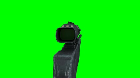 ohař : Sniper Hunter Rifle Rotating on GreenScreen 3D Animation