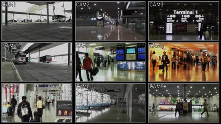 бдительность : 4K Airport Inner Zone Security Camera System
