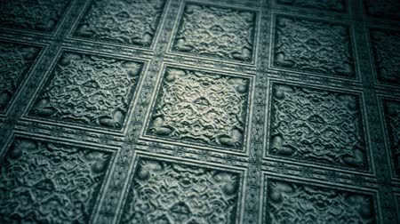 meia idade : 4K Medieval Carved Stone Background