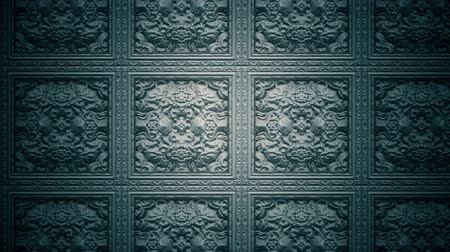 meia idade : 4K Medieval Carved Stone Looping Background 2