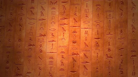 faraon : 4K Egyptian Hieroglyphs Mystic Ancient Riddle Stone Wall Segments v3 1