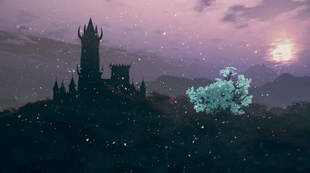 fireflies : Fantasy Castle and Fire Flies in a Mysterious World 3D Animation 1