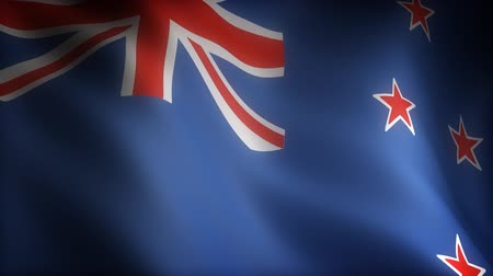 blue flag : Flag of New Zealand (seamless)