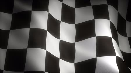 pixéis : Checkered Flag (seamless) Stock Footage