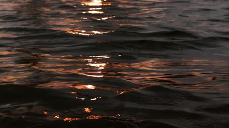 elements : sundown water reflections