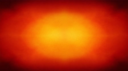 Animated loopable 4K abstract colorful background with grunge noise texture and vivid radial color gradient of red, orange and yellow Vídeos