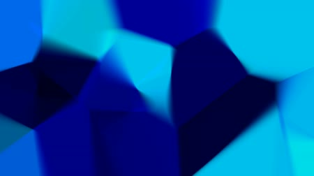 zahmetsiz : Abstract blue mosaic motion background (seamless loop)