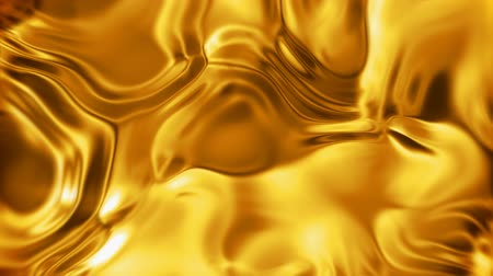 ipek : Liquid gold metal surface seamless looping Stok Video