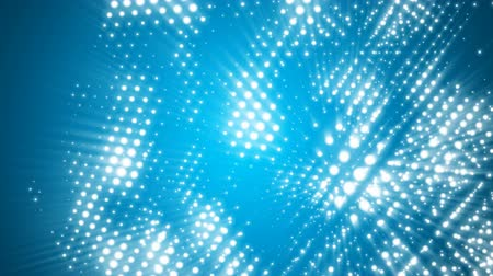 kocka : Abstract light dots cube motion background seamless loop