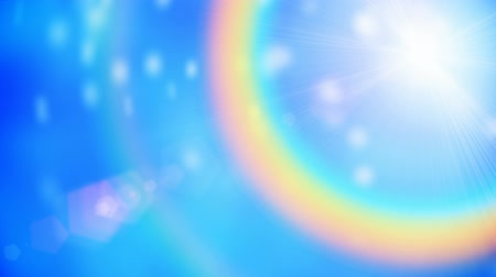shiny : Rainbow motion background seamless loop Stock Footage
