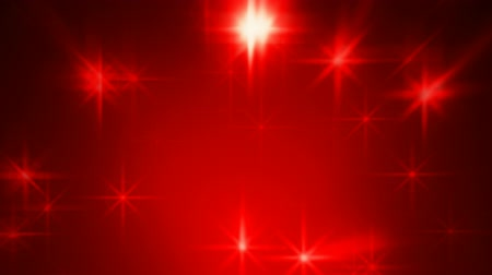 red background : Abstract red blurred stars motion background