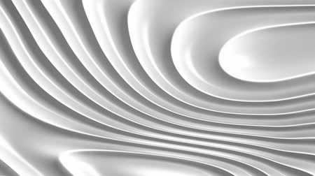 рябь : White ripples abstract motion background seamless loop