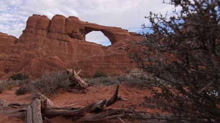 verlichting : Arches National Park in Moab, Utah.