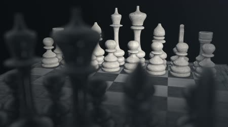 xadrez : Chess pieces on a Chess board