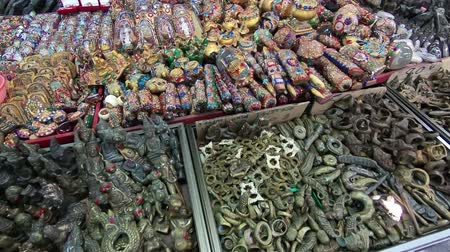 amulet : Thai amulets on the market. Religious Buddhist amulets for protection and good luck