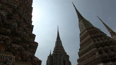 wat pho : Old Pagoda in Wat Pho Temple of Thailand
