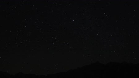 perseids : Under the stars Stock Footage