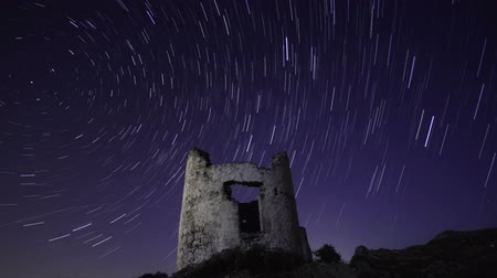 perseids : A Windmill under the stars