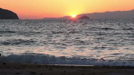 без городского : Seaside town of Turgutreis and spectacular sunsets