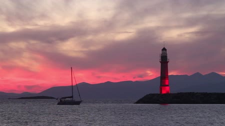 bodrum : Seaside town of Turgutreis and spectacular sunsets