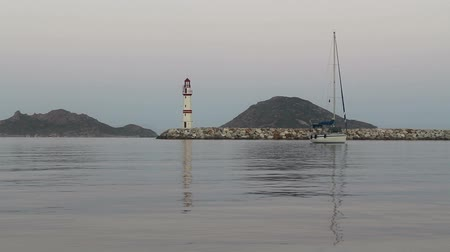 senhor : Seaside town of Turgutreis and spectacular sunrise.