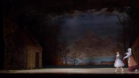 adolphe charles adam : DNIPRO, UKRAINE - NOVEMBER 3, 2018: Classical ballet by the Opera and Ballet Theater.