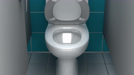 mal cheiroso : Jump to Hyperspace through the toilet, 3d animation.