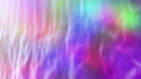 gumka : Abstract motley curtain, 3d animated seamless loop background. Wideo