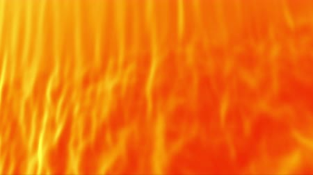 meada : Abstract orange curtain, 3d animated seamless loop background.