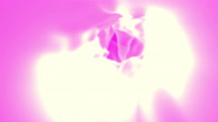 roupagem : Abstract pink cloth, 3d animated seamless loop background. Vídeos