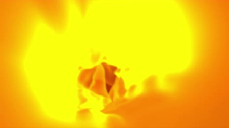 ритмичный : Abstract orange cloth, 3d animated seamless loop background.
