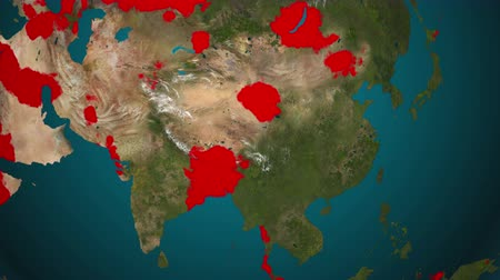 propagação : computer-generated imagery video clip in 4K resolution