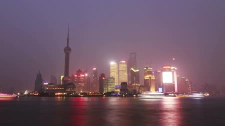 gün : Pudong Day to Night shot