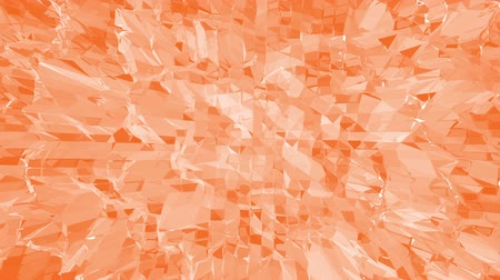 deformação : Polygonal digital mosaic vibrating environment or waving background in cartoon low poly popular modern 3D design. Landscape or geometric structure in stylish design. Free space
